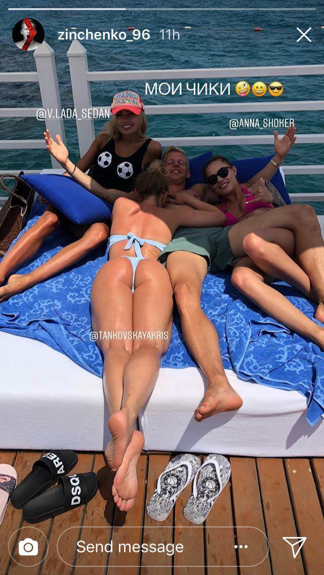 Зинченко развлекся в кровати с девушками своих друзей. ФОТО