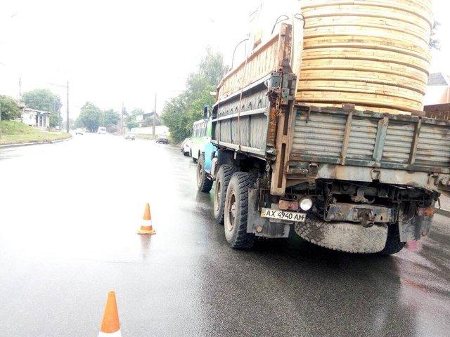 ДТП в Харькове: грузовик протаранил маршрутку, есть раненые. ФОТО