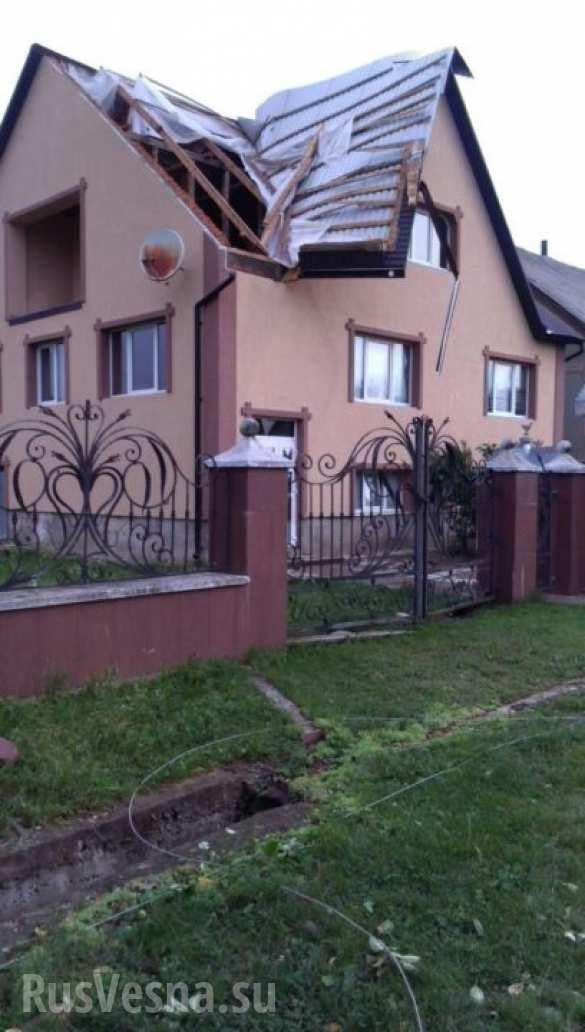 Непогода в Закарпатье: градом повреждены более 850 зданий