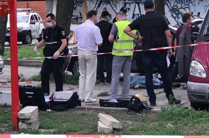 Расстрел полицейского в Киеве: полиция задержала подозреваемого