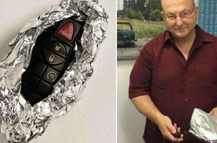 Агент ФБР рассказал, почему заворачивает в фольгу ключи от машины