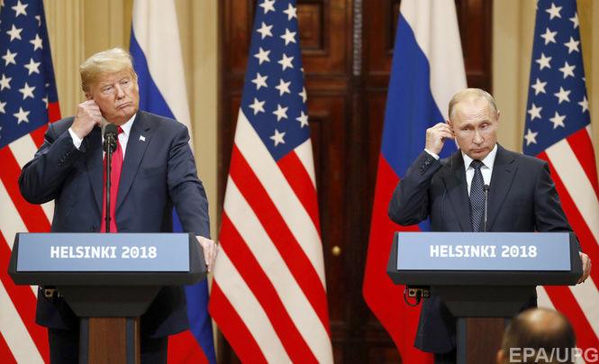 СМИ: Трамп на встрече с Путиным отказался от подготовленных советниками заявлений