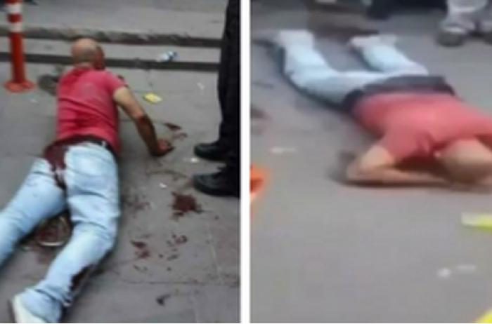 Отец не выдержал и прямо на улице кастрировал мужчину, который приставал к его дочери. ВИДЕО