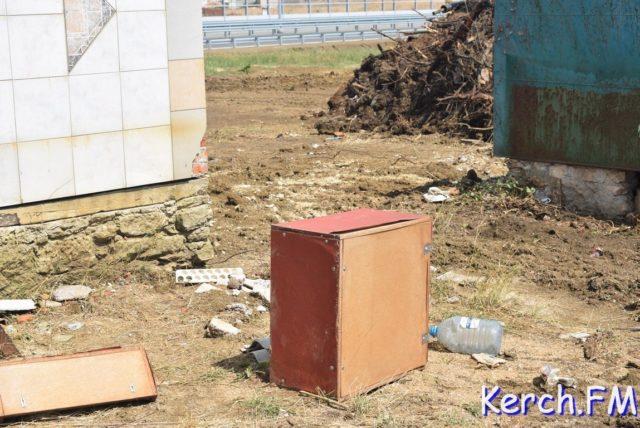 Крымчанам начали разрушать дома из-за Керченского моста. ФОТО, ВИДЕО