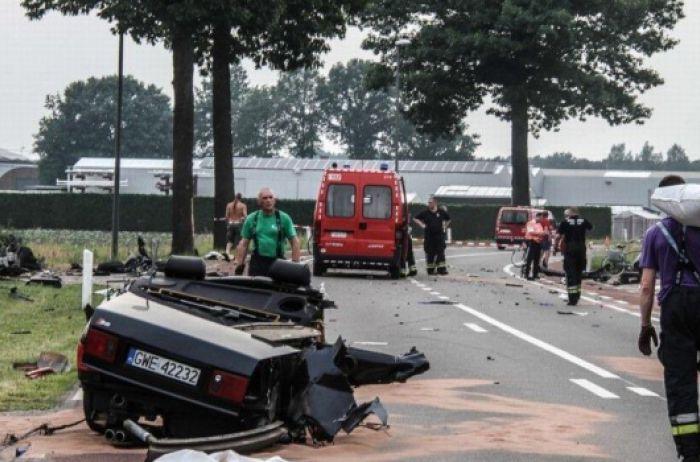 СМИ: Автомобиль разорвало пополам, в жуткой аварии погибла дочь Владимира Путина