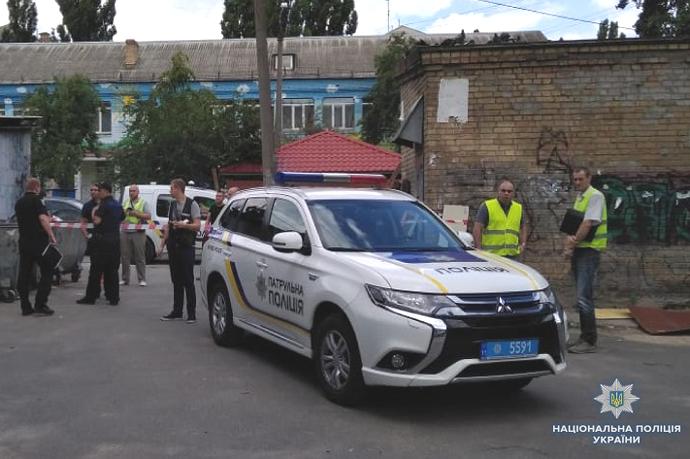 Застреленный в Киеве мужчина оказался полицейским. ФОТО