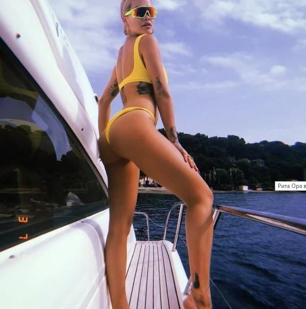 Рита Ора в крошечном бикини взбудоражила откровенными снимками