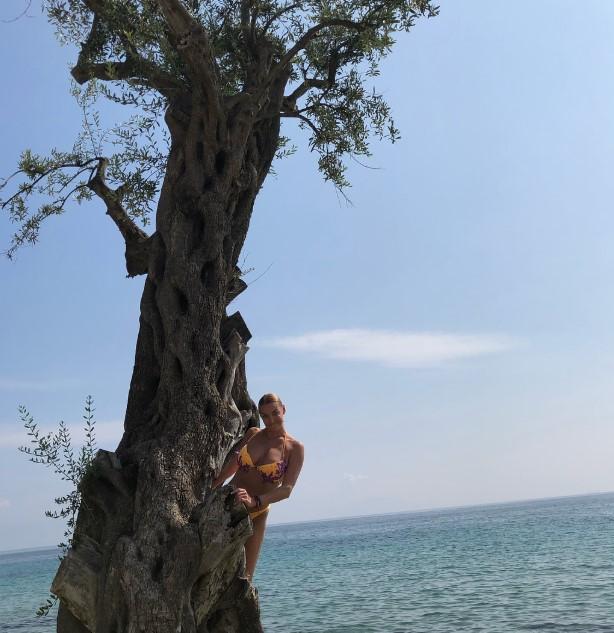 Вылазь из дупла: Волочкова поселилась на дереве