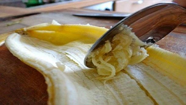 польза банановой кожуры