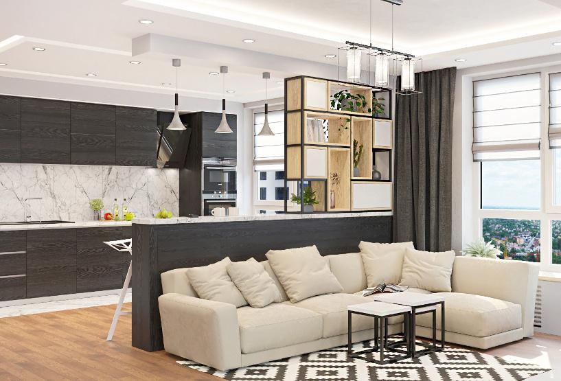 Индивидуальный дизайн квартиры в Киеве