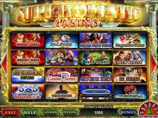 Игровая система Superomatiс для казино: пусть к успеху