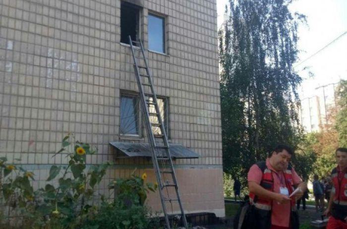 Пожар в Киеве: горело университетское общежитие, эвакуировали 50 человек