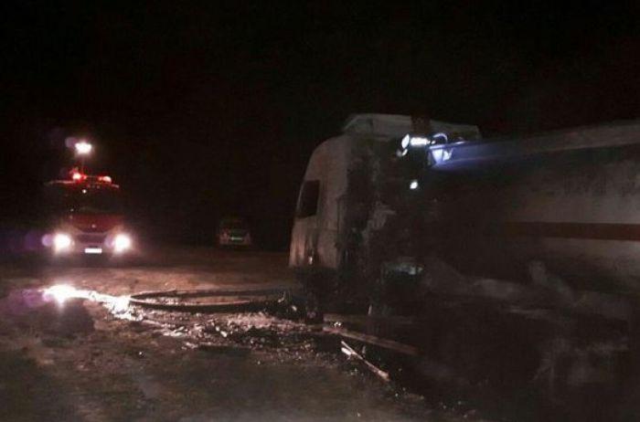 В Иране автобус столкнулся с бензовозом: погибли более 20 человек