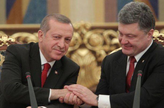 Порошенко обратился к Эрдогану за помощью в освобождении заключенных Кремля