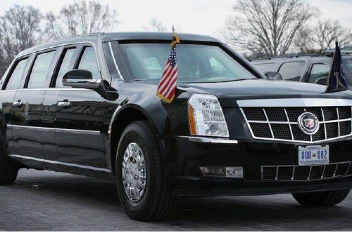 """Новый Cadillac Дональда Трампа: автопарк президента США пополнился еще одним """"Зверем"""". ВИДЕО"""