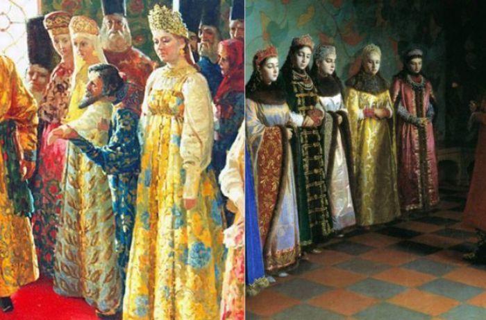 Как русские цари себе невест выбирали