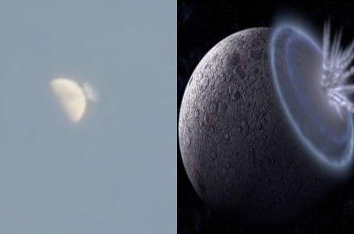 Огромный астероид упал на Луну. ВИДЕО