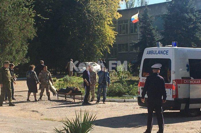 Взрыв в керченском колледже: очевидцы говорят о теракте и попытке захватить заложников. ВИДЕО