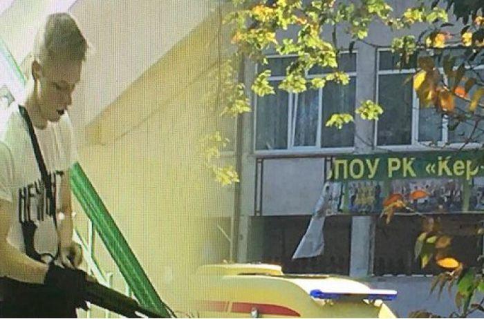 Керченская бойня: Рослякова учили стрелять в  МВД России