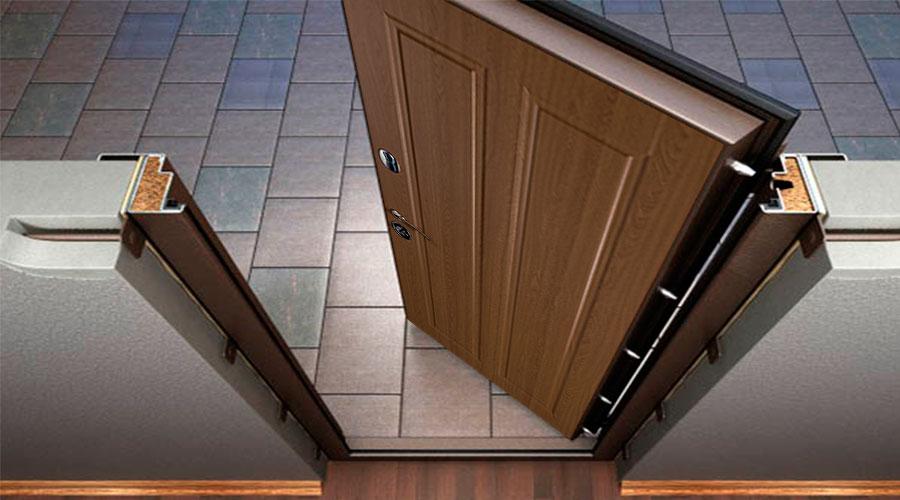 Які є різновиди вхідних та міжкімнатних дверей?