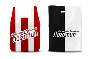 Реклама на фирменных пакетах с гарантией
