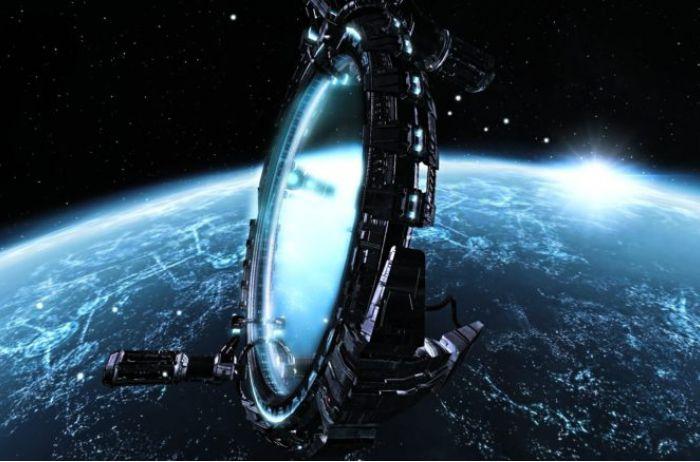 Пассажиры самолета обнаружили портал из параллельной Вселенной