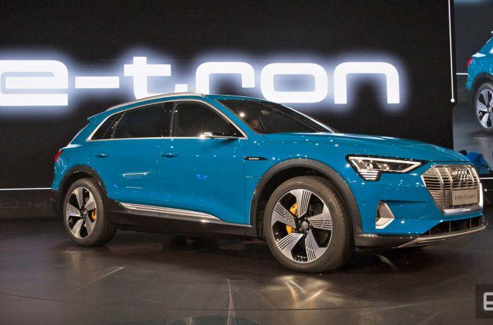 Максим Шкиль рассказал об инновациях в кроссовере Audi e-tron