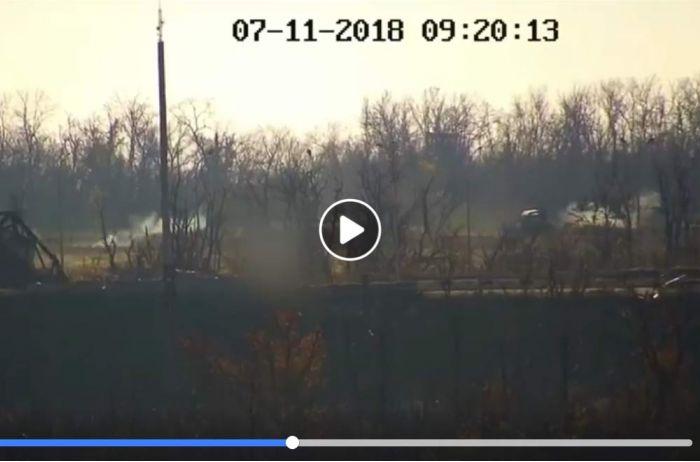 """""""Не все доехали целыми"""": в Донбассе потрепало боевиков. ВИДЕО"""