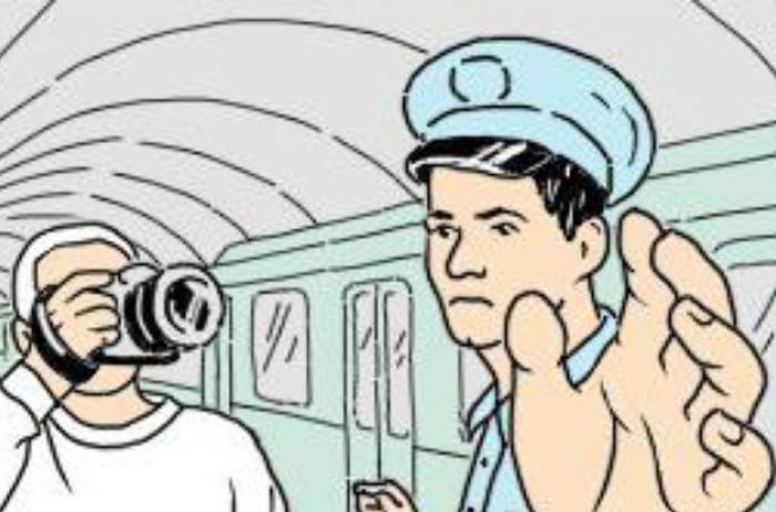 Стало известно, почему нельзя фотографироваться в метро