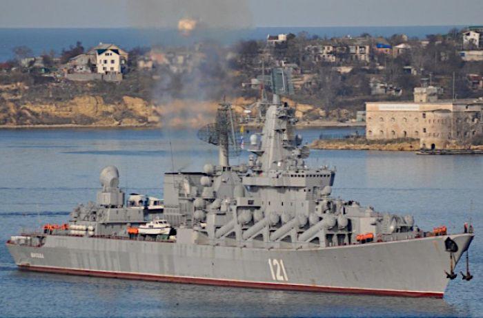 В Крыму развалился единственный флагманский крейсер