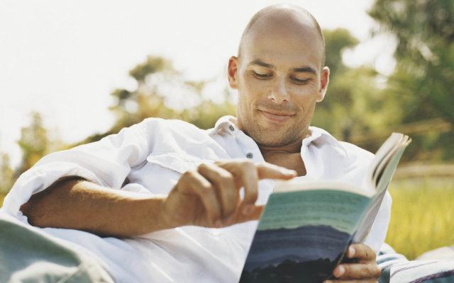 человек с книгой, чтение, книга