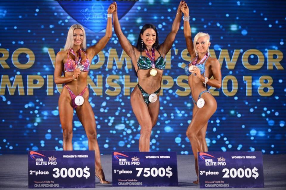 Украинка выиграла чемпионат мира по фитнесу