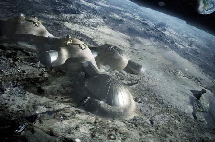 На Луне обнаружили прямоугольные строения. ВИДЕО