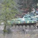 Украинские военные угнали танк в Германии. ВИДЕО