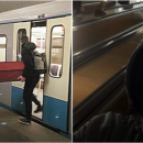 Житель столицы объяснил, почему вез в метро гроб, шокируя полицейских и пассажиров