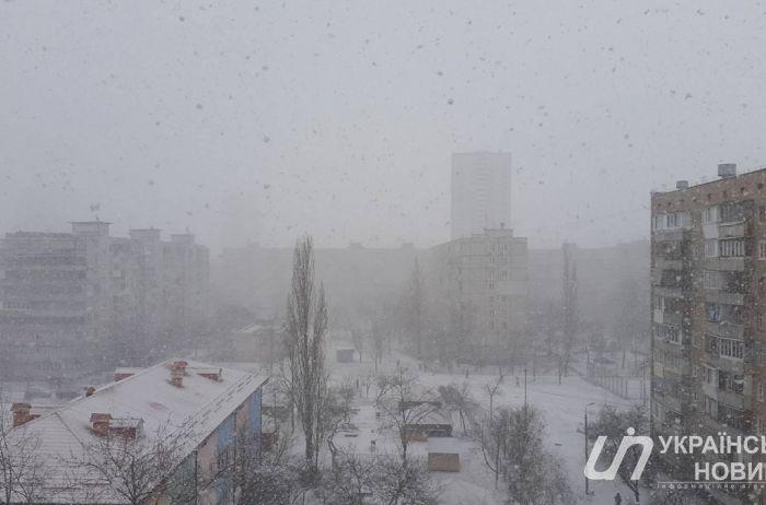 Шесть областей Украины накроет штормом