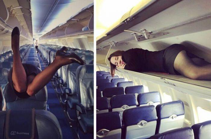 """""""Тайный обряд"""": что перед взлетом должны сделать стюардессы"""