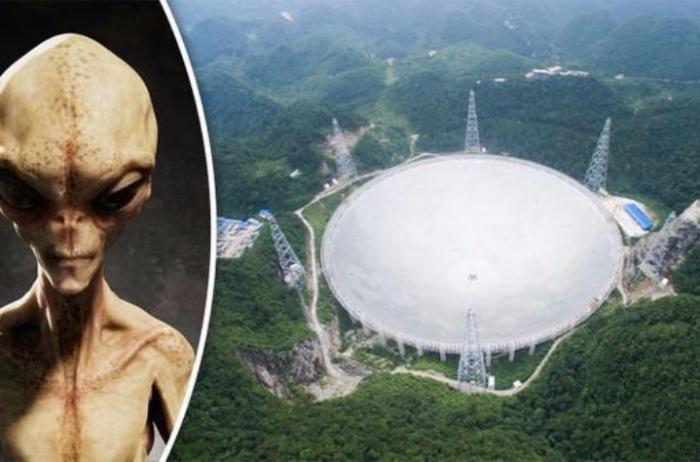 Телескоп FAST уловил инопланетные сигналы