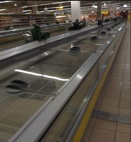 Еда закончилась: в сети показали печальку супермаркета на оккупированном Донбассе