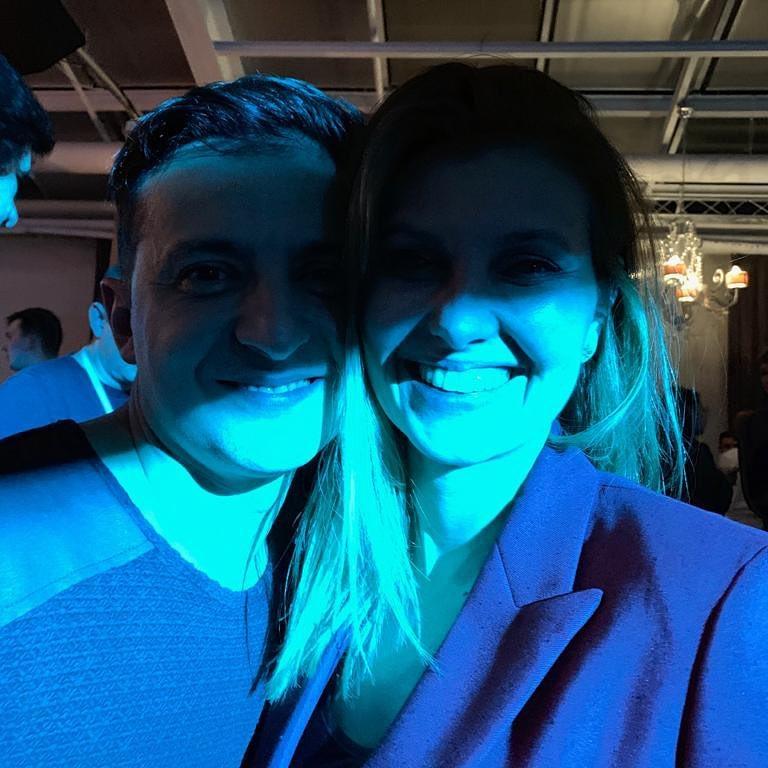 В Интернет выложили редкий снимок Зеленского с супругой
