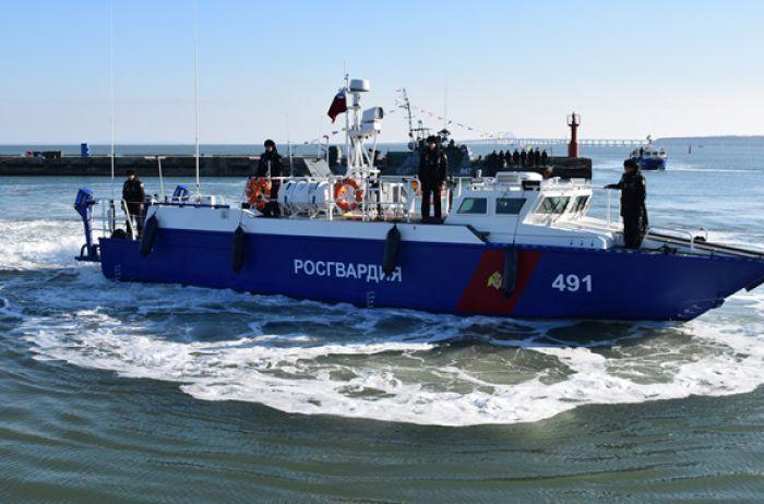 Керченский мост теперь будут патрулировать боевые катера РФ