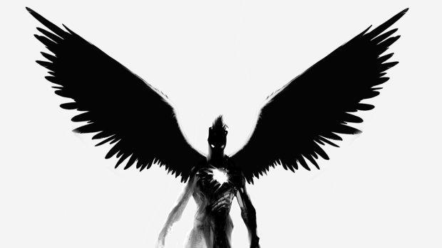 Страшное существо с крыльями за спиной хотело унести ребенка