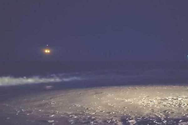 Странное двойное НЛО попало на видео в США