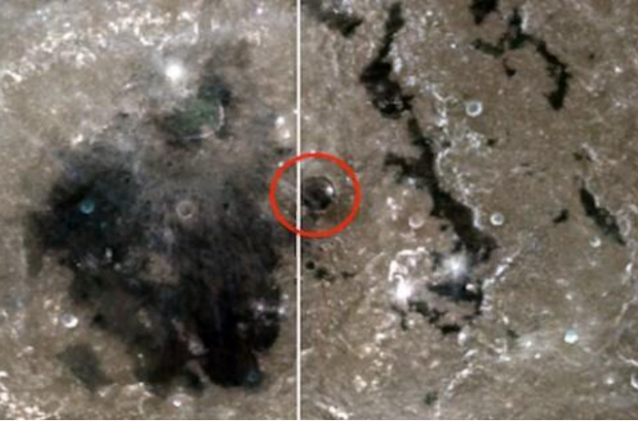 На Луне обнаружили купол и много строений