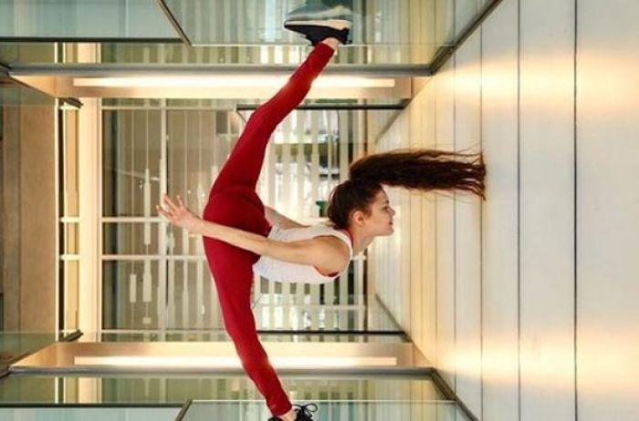 26-летняя гимнастка шокировала Сеть своими трюками. ВИДЕО