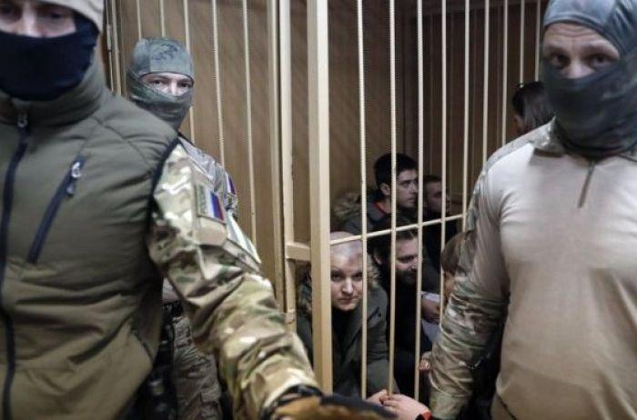 Украинским морякам в РФ хотят продлить арест до конца июля
