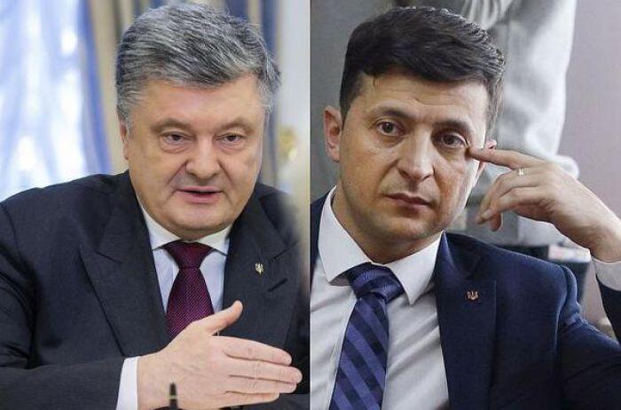 Порошенко против Зеленского: последний опрос показал фаворита