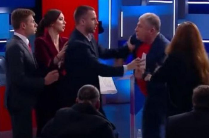 """""""Козляра и мерзость"""": Червоненко и Гончаренко сцепились в прямом эфире. ВИДЕО"""