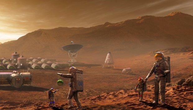 Секретная лаборатория инопланетян на Марсе разрушила теорию Дарвина