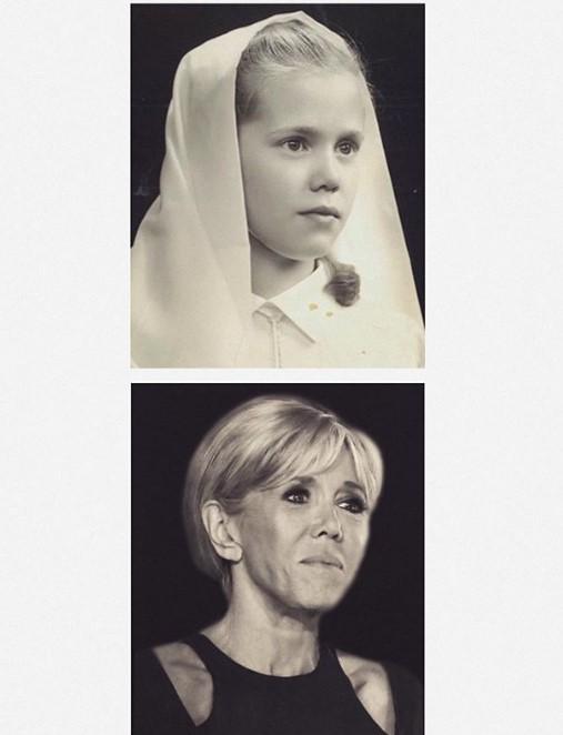 Так выглядела Брижит Макрон в юные годы. ФОТО